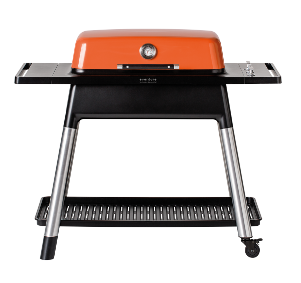 everdure FURNACE Gasgrill mit drei Brenner orange