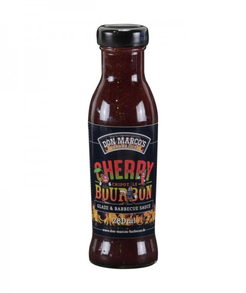 Don Marco`s Cherry Chiptole Burbon Sauce & Glaze, 280ml