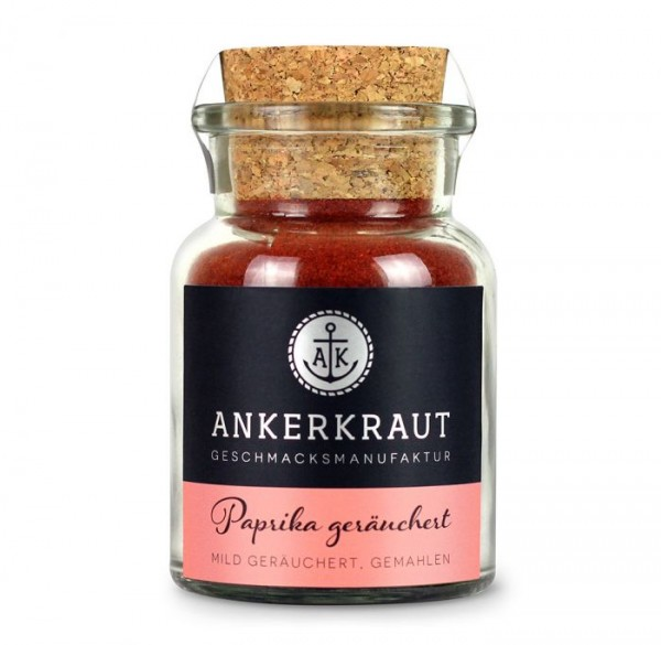 Ankerkraut Paprika geräuchert im Korkenglas, 80g