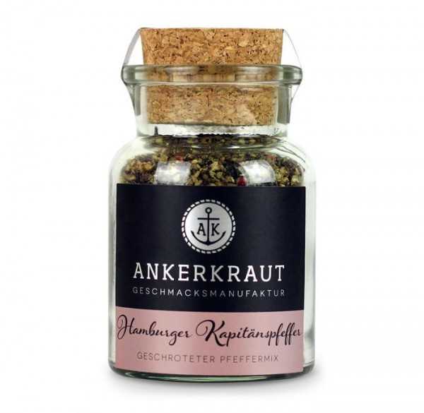 Ankerkraut Hamburger Kapitänspfeffer im Korkenglas, 70g