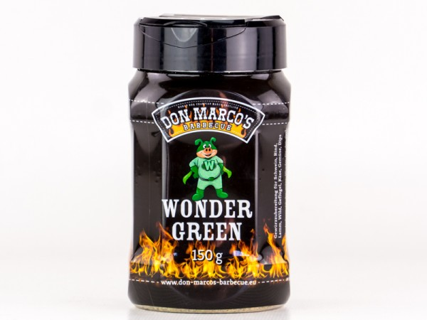 Don Marco`s Wonder Green BBQ Rub, 150g