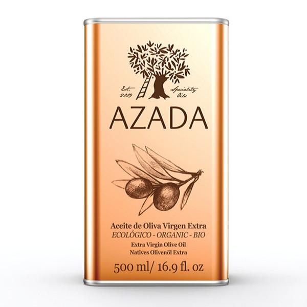Azada-Natives Olivenöl Extra, Bio 500ml