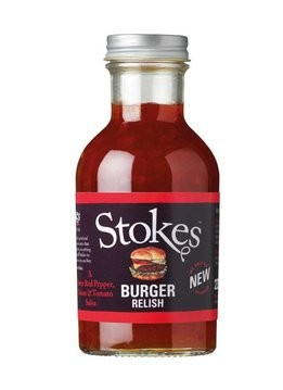 Stokes Burger Relish, 256ml