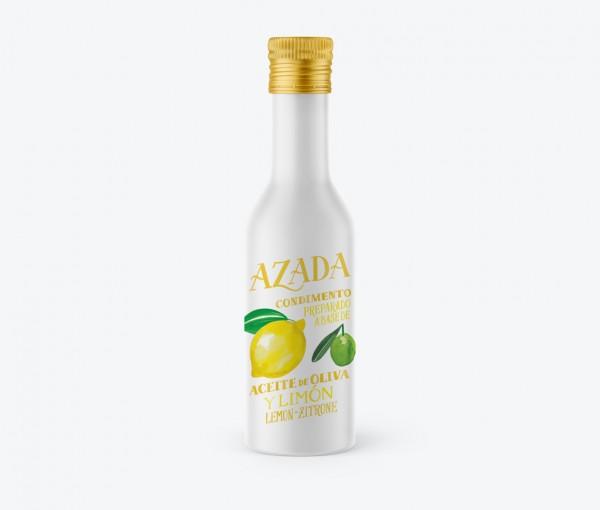Azada-Olivenöl mit Zitrone, 225ml