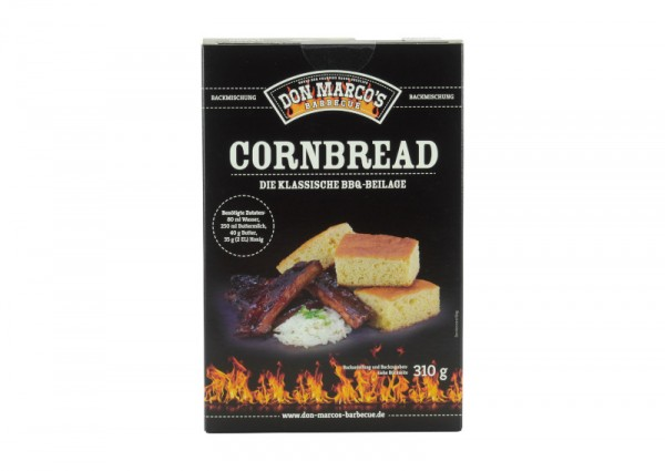 Don Marco`s Cornbread Backmischung, 310g