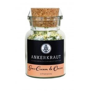 Ankerkraut Sour Cream & Onion Gewürz im Korkglas, 80g