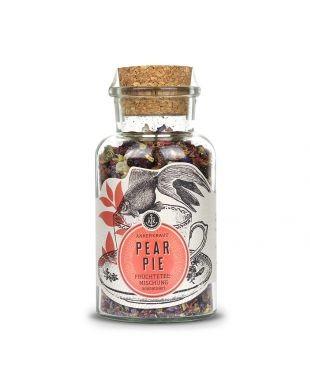 Ankerkraut Pear Pie Früchtetee-Mischung im Korkenglas, 150g