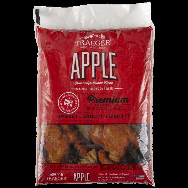 Traeger Hartholz Pellets Apple, 9kg Beutel