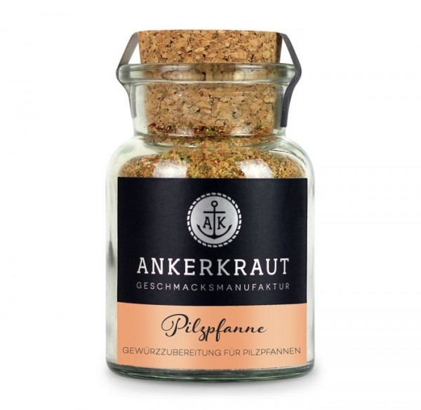 Ankerkraut Pilzpfanne im Korkenglas, 75g