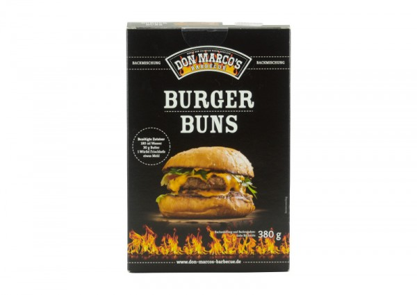 Don Marco`s Burger Buns Backmischung, 380g