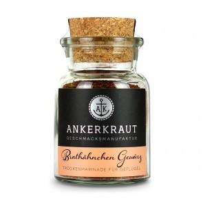 Ankerkraut Brathähnchen Gewürz im Korkglas, 75g