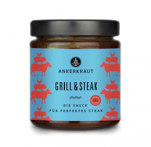 Ankerkraut Grill & Steak Sauce im Glas, 170ml