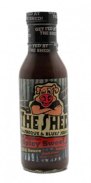 The Shed BBQ Spicy Southern Sweet BBQ Sauce, 350ml