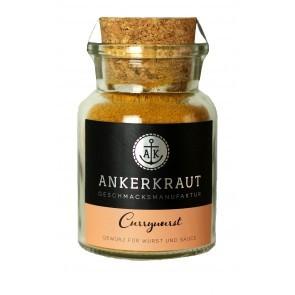 Ankerkraut Currywurst Gewürz im Korkglas, 90g