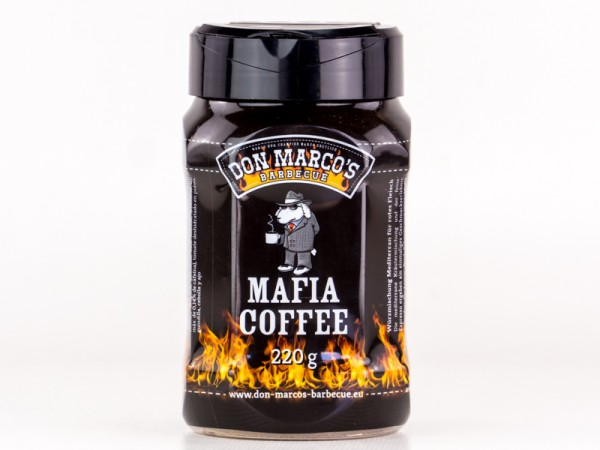 Don Marco`s Mafia Coffee BBQ Rub, 220g