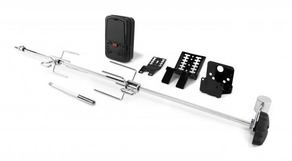 Broil King Premium Universal Drehspieß-Set mit Elektromotor