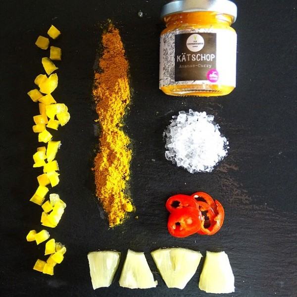 KÄTSCHOP Ananas-Curry, 50ml