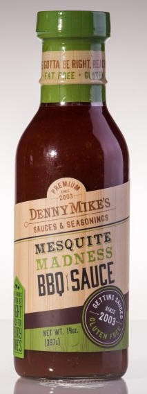 Denny Mike`s Mesquite Madness BBQ Sauce, 350ml