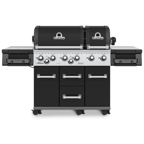 Broil King Imperial 690 XL Black inkl. Drehspieß + Motor
