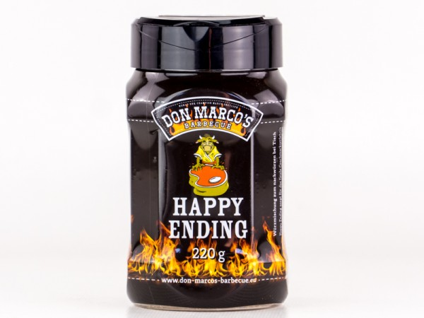 Don Marco`s Happy Ending BBQ Rub, 220g