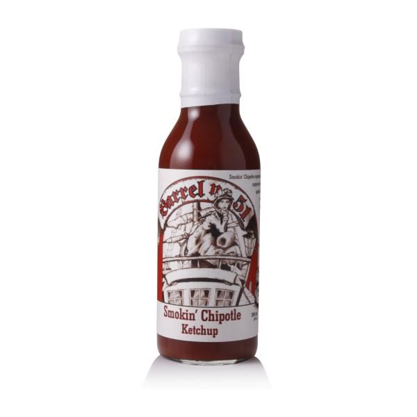 Barrel 51 Smokin´Chipotle Ketchup - 396ml