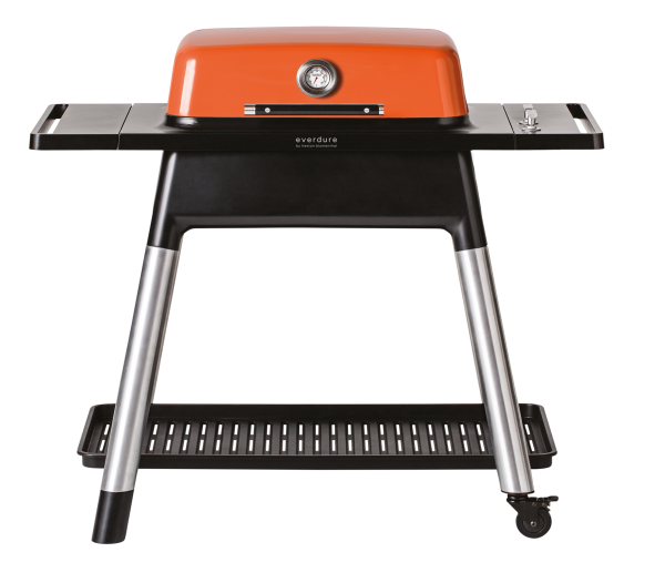 everdure FORCE Gasgrill mit zwei Brenner orange