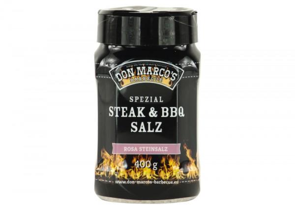 Don Marco´s Spezial Steak & BBQ Salz (rosa Steinsalz), 400g
