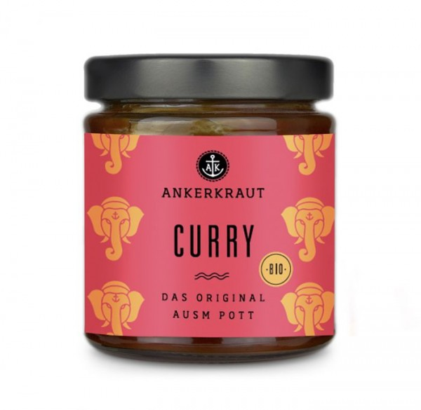 Ankerkraut Curry Sauce im Glas, 170ml