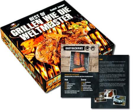 Rezepte Box - Best of Grillen wie die Weltmeiseter