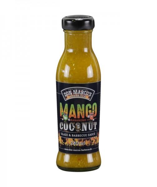 Don Marco´s Mango Habanero Coconut Glaze & Barbecue Sauce, 280ml