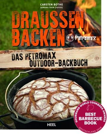 """Petromax Outdoor Kochbuch """"Draussen backen"""""""