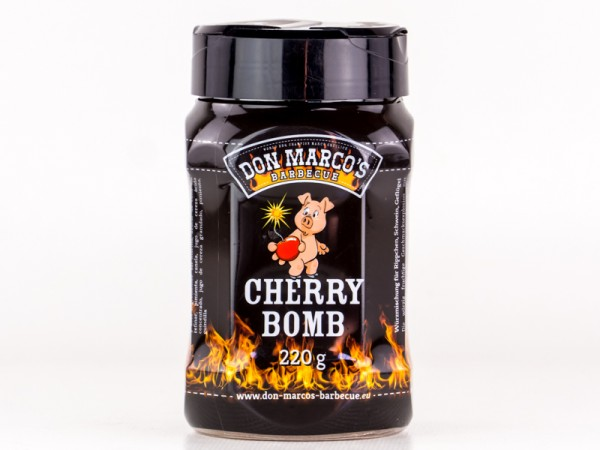 Don Marco´s Cherry Bomb BBQ Rub, 220g