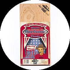 Axtschlag Wood Planks Cherry, 3er Set