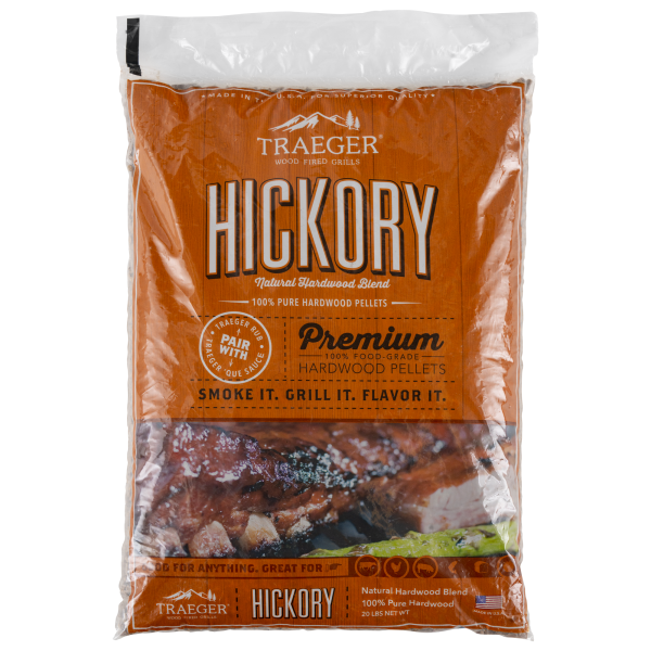 Traeger Hartholz Pellets Hickory, 9kg Beutel