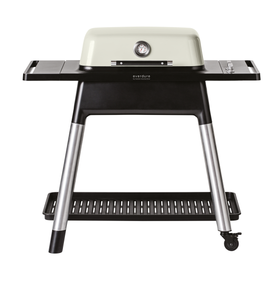 everdure FORCE Gasgrill mit zwei Brenner stone