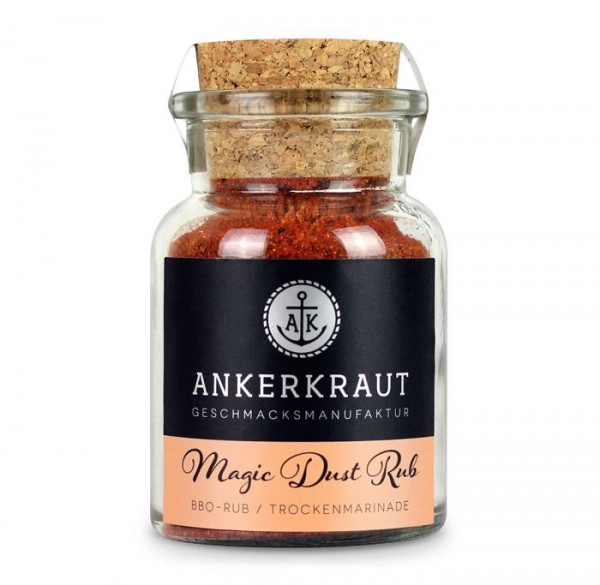 Ankerkraut Magic Dust BBQ Rub im Korkenglas, 100g