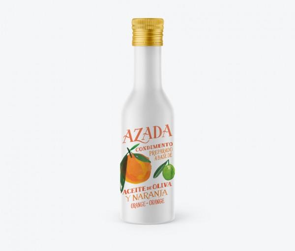 Azada-Olivenöl mit Orange, 225ml