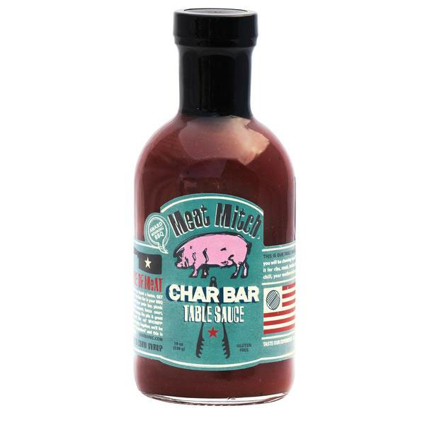Meat Mitch Char Bar Table Sauce, 450ml