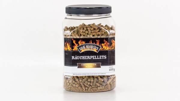 Don Marco´s Smokey Räucherpellets Competition Blend, 450g